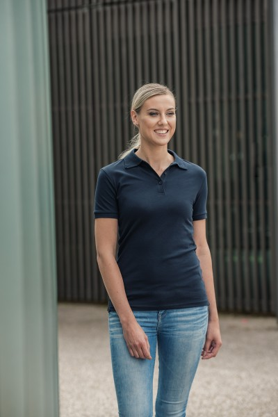 Damen Luxury Stretch Polo