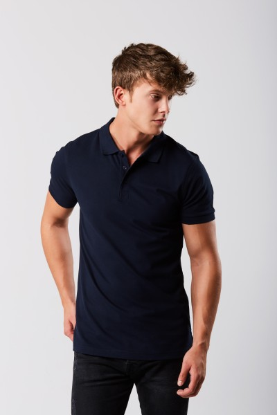 Herren Heavy Stretch Polo