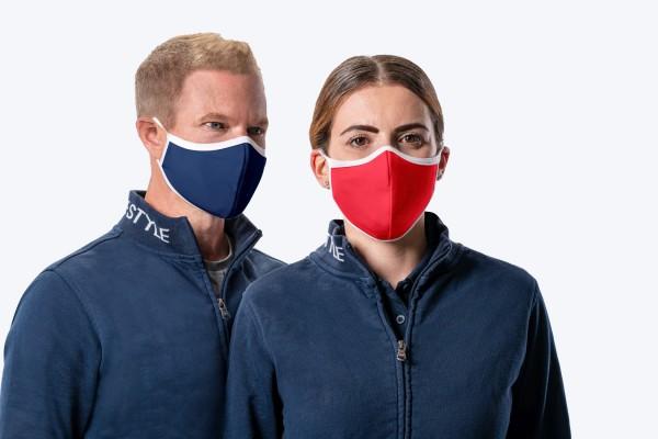 HRM Premium Mund-Nasen-Maske (3er Set)