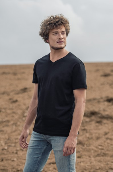 Men's Luxury V-Neck Tees